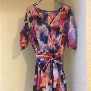 Multi Colored Maggie London Dress